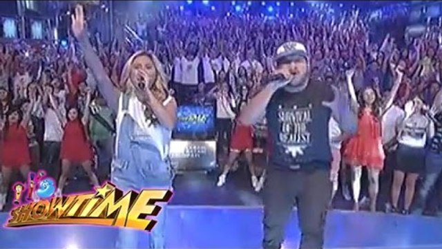 "Yeng and Quest perform ""Isang Laban Isang Bayan"" on It's Showtime"