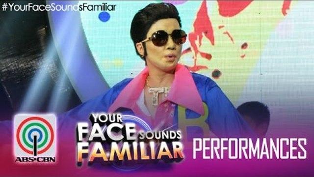 """Your Face Sounds Familiar: Maxene Magalona as Vhong Navarro - """"Totoy Bibbo"""""""