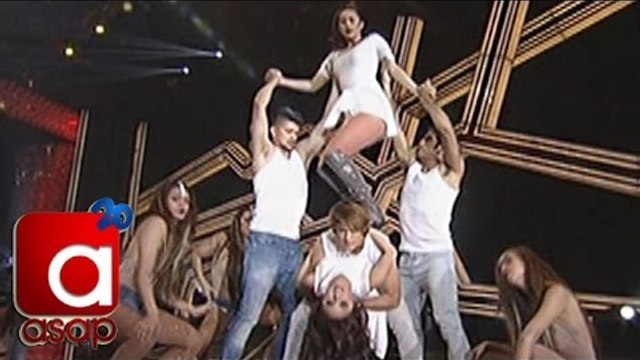 Enrique, Kim, Gerald, Shaina and Rayver heat up ASAP stage