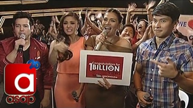ASAP: ABS-CBN Youtube Channel 1 Billion Views