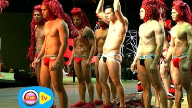 Matapang na pagrampa nina Kim, Jake, Coco, Kathniel at malalaking Kapamilya stars sa Bench The Naked