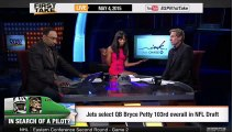 ESPN First Take - Bryce Petty Drafted By Jets 103rd Overall in NFL Draft - Chances For Jets