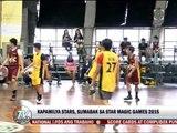 Kapamilya stars lumahok sa Star Magic Games 2015
