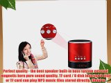 E-More? A38S Super Bass Stereo Wireless Portable MP3 Player Audio Amplifier Support TF Wirelss