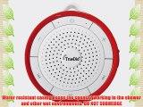 TrueDio? BX Wireless Waterproof Bluetooth Speaker - Model TD-BX (Red)