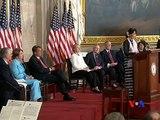 Daw Aung San Suu Kyi Accepts Congressional Gold Award