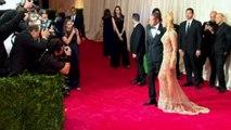 Rihanna and Kim Kardashian appear on Met Gala red carpet