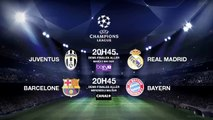 Juventus-Real Madrid, FC Barcelone-Bayern... Le programme TV des rencontres de Ligue des Champions !
