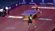 Tennis de Table le point hallucinant lors de la finale des championnats du monde