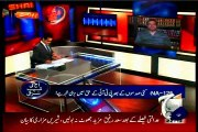 GEO Aaj Shahzaib Khanzada Kay Sath with Khalid Maqbool (4 May 2015)