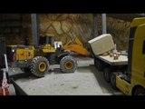 RC CONSTRUCTION SITE, BIG LOAD CARRARA STONES FOR CARRARA WORLD