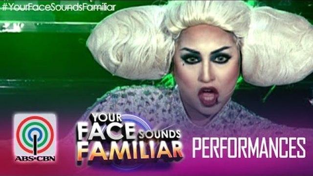 "Your Face Sounds Familiar: Jolina Magdangal as Lady Gaga - ""Bad Romance"""