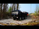 RC CONSTRUCTION SITE,TIPPERS 8X8  ON THE CONSTUCTION ZONE, VERY NICE RC MACHINES,