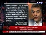 Trillanes names 2 CA justices in alleged bribery