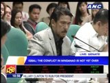 WATCH: Sotto walks out of Senate BBL hearing