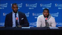 Cavaliers on Game 1 Loss _ Bulls vs Cavaliers _ Game 1 _ May 4, 2015 _ NBA Playoffs