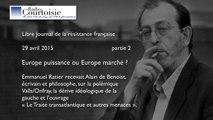 Europe puissance ou Europe marché ? Partie 2
