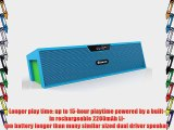 Eachine BAR Portable Bluetooth Wireless Speaker 15 Hours Play Built in 2200mAh Battery Alarm