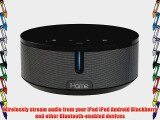 iHome iBN26G NFC Bluetooth Stereo System with Speakerphone (Gunmetal)