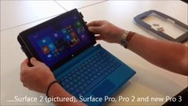 Surface Enclosure Kiosk - NEW Surface 3 Surface Pro 3 Surface Pro 4 Tablet Workstation
