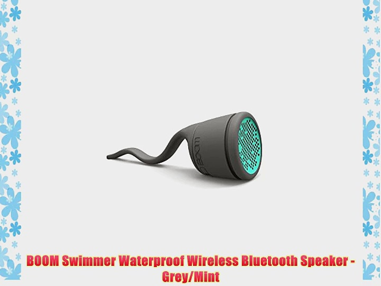 MINT Green RETAIL PACKAGING NEW Polk Audio Boom Swimmer Bluetooth Speaker