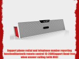 Generic Portable Wireless Bluetooth Stereo Speaker with LDD Screen FM radio Alarm clock MIC