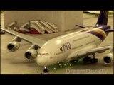 AIRBUS A380 THAI AIRWAYS ++ Miniatur Wunderland Hamburg Flughafen Knuffingen Airport 1:87