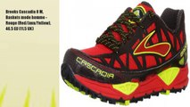 Brooks Cascadia 8 M, Baskets mode homme - Rouge (Red