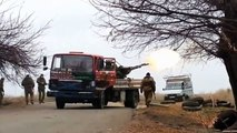 Russia deployment of anti-aircraft weapons - 20141115 - Donetsk Airport, Donetsk - ZU-23-2T -  used by insurgents