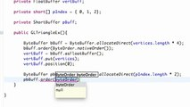 173. Android Application Development Tutorial - 173 - ShortBuffer to handle Indices