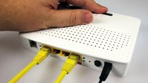 Switching your TG582n router from ADSL to Fibre Optic Broadband