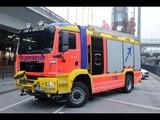 Feuerwehr Hamburg ✈ Airport ✈ *neues HLF* MAN TGM fire engine slideshow