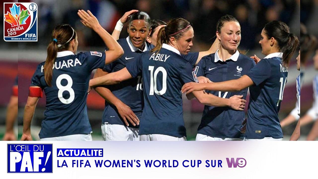 LA FIFA WOMEN'S WORLD CUP 2015 SUR W9