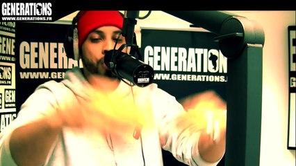 Disiz - Rap Genius (Live des studios de Generations)