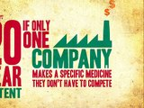 How to Break Monopolies of HIV/AIDS Drugs?  (4-1): The problem with monopolies