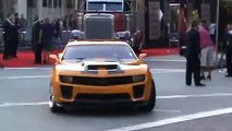 Optimus Prime and Bumble Bee - at Transformers Revenge of the Fallen premiere
