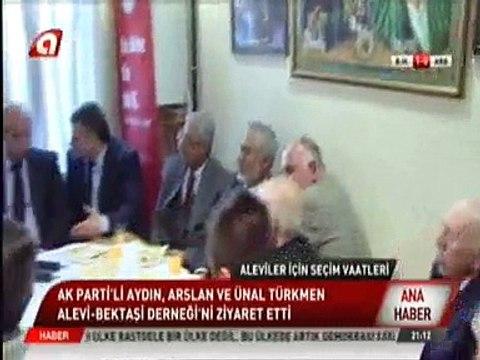 AKParti Milletvekili Adayları Barış Aydın, Mücahit Arslan Ve Mahir Ünal Türkmen Alevi Bektaşi Derneğini Ziyaret Ettiler