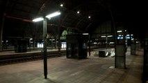 Praha hlavní nádraží - Hlášení příjezdu prvních vlaků EN 476 Metropol a R 440 Excelsior