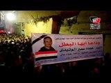 تشييع جثمان شهيد تفجيرات سيناء من مسقط رأسه بالدقهلية