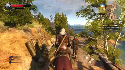The Witcher 3 : Wild Hunt - Gameplay 1/3 de The Witcher 3 : Wild Hunt