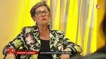 Viviane Lambert se bat pour le maintien en vie de son fils