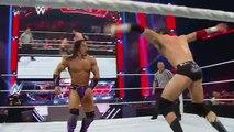 WWE 4 May 2015 Raw - Neville & Dolph Ziggler vs. Sheamus & King Barrett