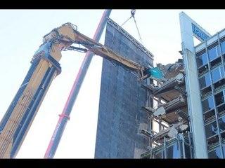 Caterpillar 5110B HRD 88 Abbruchbagger world's biggest demolition excavator