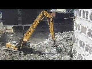 Liebherr R 954 Longfront Abbruchbagger Wilko Wagner demolition excavator
