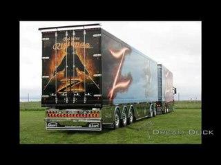 Ristimaa Scania R500 Zorro Showtruck