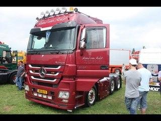 Van Aalst Transport Mercedes Actros MP3 loud pipe Lopik Truck festival