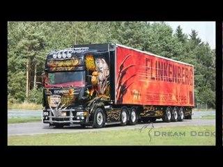 """Scania R 560 V8 Kuljetus Jalava """"Elm Street"""" airbrush truck"""