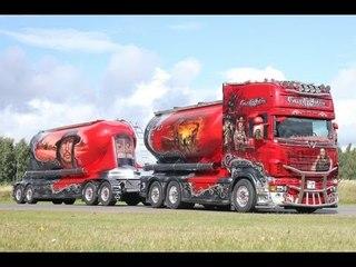 Gunfighter Scania R 620 V8 Auvinen Finland Nordic Trophy Trucking Festival