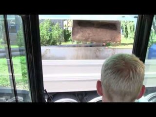 Loading A Volvo FH12 520 8x4 Truck With Trailer