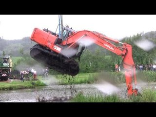 The Tale Of The Stuck Excavator. The Rescue Part 1